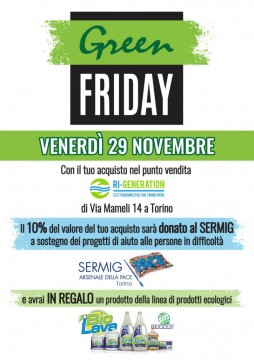"""GREEN friday"" RI-GENERATION"